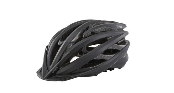 UVEX race 3 Helm black mat